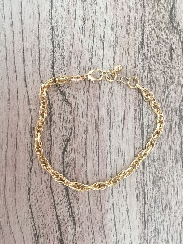 Navy Blue and Gold Bracelet Set