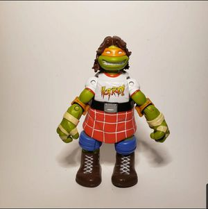 TMNT WWE MICHAEL ANGELO AS ROWDY RODDY PIPER 6 INCH FIGURE for Sale in Chula Vista, CA