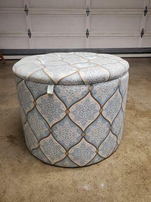 Big Fabric Storage Ottoman for Sale in San Lorenzo, CA