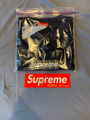 Supreme Burberry Box Logo Tee for Sale in Spring Valley, CA