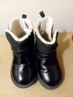 GIRL'S OSH KOSH LEATHER&FUR BOOTS for Sale in Wilmington, DE