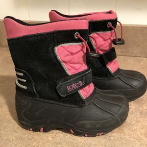 TOTES GIRLS BOOTS for Sale in Park Ridge, IL