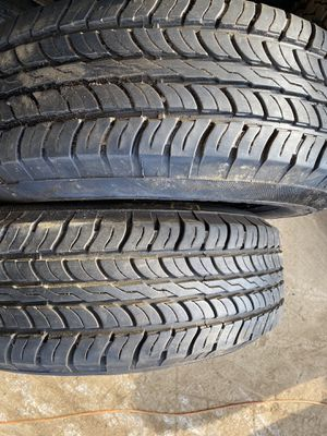 2 used tires 245/75/16 for Sale in Naugatuck, CT