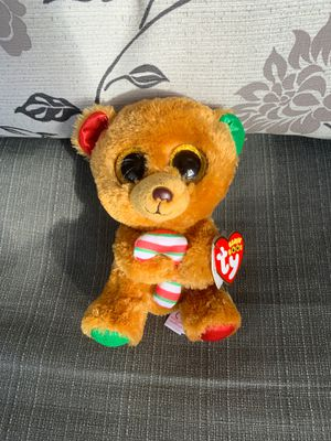 "TY beanie 6"" Christmas plushie for Sale in Miami Gardens, FL"