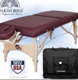 Oakworks massage table for Sale in Chandler, AZ