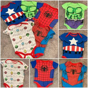 Marvel 5 Piece Onesies for Sale in Rockland, MA
