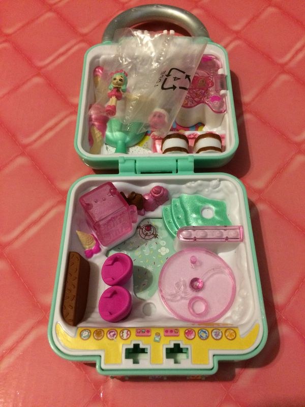 Toy shopkins secret lock ice cream scoops playset