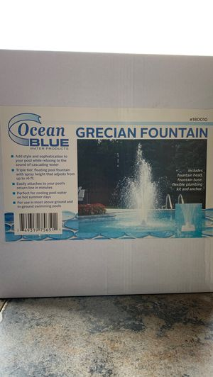 Ocean BLUE - Grecian Pool Fountain- Swimming Pool for Sale in Arlington, TX