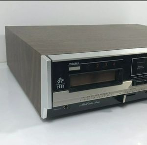 Vintage Fisher 2080 Reciever and 8Track Player for Sale in Burien, WA