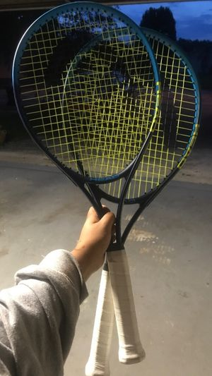 2 Blue Tennis Rackets for Sale in Brandon, FL