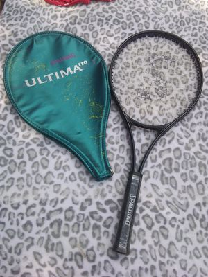 Spalding Ultima 110 Full Oversize Wide body Tennis Raquet With Cover for Sale in Orlando, FL