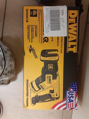 Dewalt 20v XR Reciprocating Saw for Sale in Winston-Salem, NC