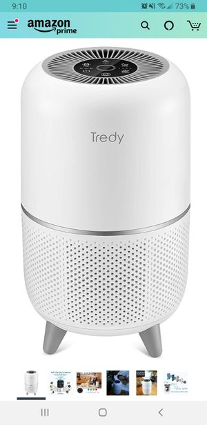 New in sealed box, TREDY Hepa Air Purifier for Home 200 Sq.ft Large Room with Air Quality Sensor, Air Filter for Allergies and Pets, Eliminates for Sale in Tustin, CA