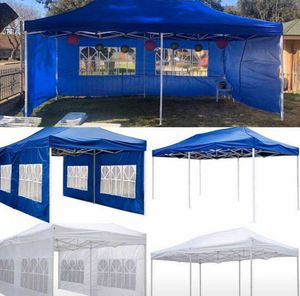 Big 10x20ft Pop Up Canopy Tent with removable Walls for Sale in Chino, CA
