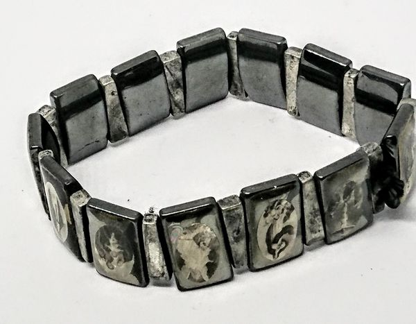 Nice Bracelet With Religious Pictures
