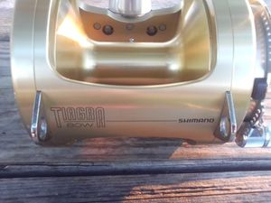 Barely Used 80w Tiagra Fishing Reel for Sale in Miami Beach, FL