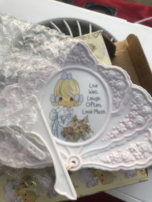 Precious Moments Live, Laugh, Love Collectible Plate $2 for Sale in Los Angeles, CA