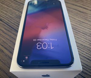 Unlocked iPhone X 256 GB,Model Number A1865 (CDMA + GSM) for Sale in Columbus, OH