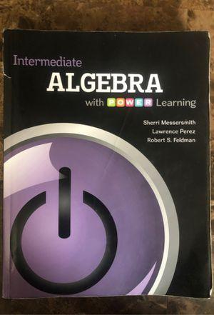 Intermediate ALGEBRA with power learning for Sale in Garfield, NJ