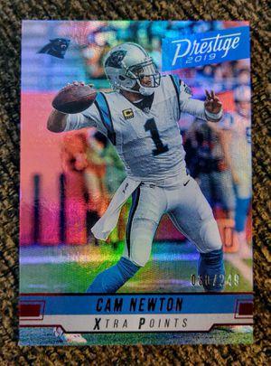 Cam Newton - 2019 Prestige Muti-Color Foil (#30/249) for Sale in Monroe, LA