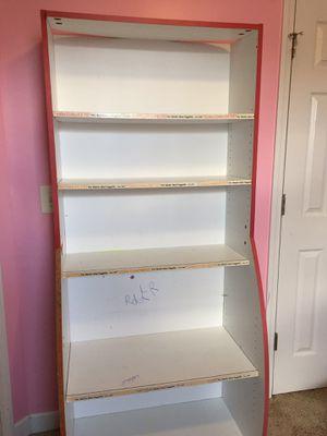 5 shelves bookcase for Sale in Murfreesboro, TN