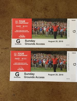 PGA Tour Championship Sunday 2 Tickets for Sale in Roswell, GA