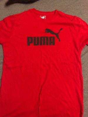 Puma red Medium t-shirt for Sale in Orlando, FL