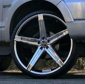 Versante 24 inch wheels for Sale in Chicago, IL