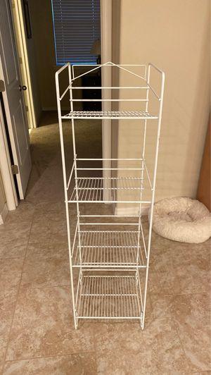 Wire 4 shelf rack for Sale in Davenport, FL
