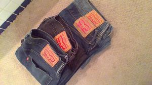 Wore 1x! Levi's 559 & Levi's 514 | 4 pairs | Dark Blue Denim & Black Denim | for Sale in Portland, OR