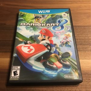 Mario Kart 8 Nintendo Wii U for Sale in Mesa, AZ