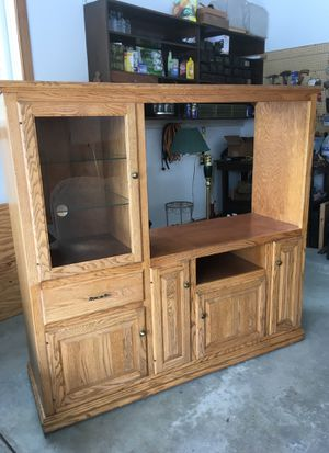 Entertainment Center for Sale in Dryden, MI