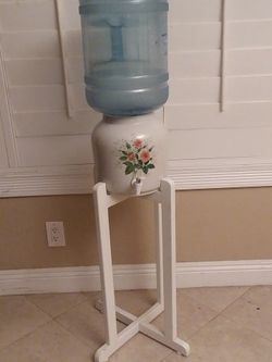 Ceramic Water Dispenser With Stand And for Sale in San Dimas,  CA