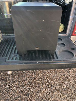 Klipsch home self powered subwoofer for Sale in Show Low, AZ