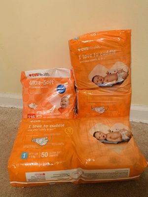 CVS Brand Diapers & Wipes for Sale in Greenbelt, MD