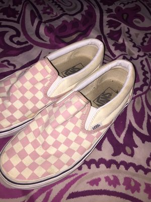 Pink checkered vans for Sale in Peoria, AZ