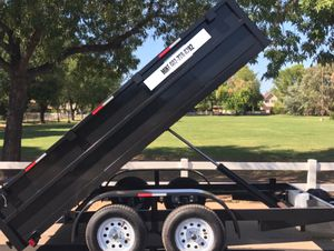 New 6x12x2 Dump Trailer, two 3500 axles for Sale in Mesa, AZ