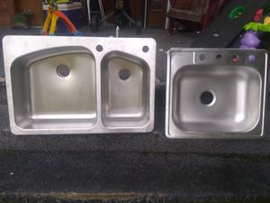Two sinks $10 and $15 for Sale in Elkins, WV