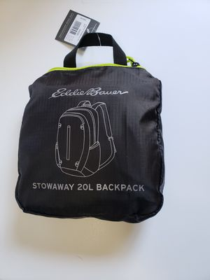 Eddie bauer stowaway 20L backpack for Sale in Temecula, CA