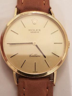 Rolex cellini 18k for Sale in Fontana, CA