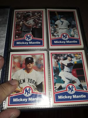 23 different Mickey Mantle baseball cards. for Sale in Philadelphia, PA