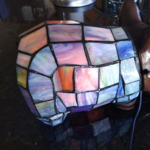 Rare Stained Glass Dog Night Light for Sale in Lakeland, FL