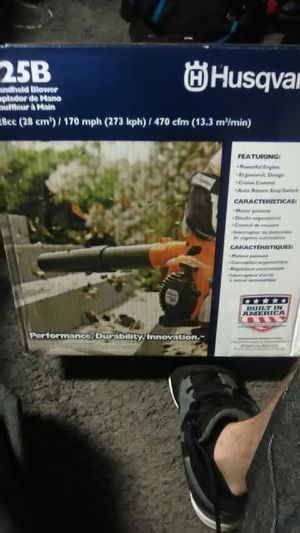 Brand New Husqvarna 125b blower for Sale in Canton, MI