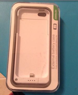 External battery case for iphone 5 for Sale in Burke, VA