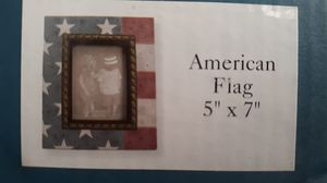Picture frame. 5x7. American flag. Heartstone for Sale in Chicago, IL