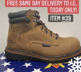 Thorogood Safety Toe Work Boot/Botas de trabajo Thorogood con casquillo for Sale in Highland,  CA