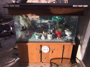 Fish tank used as terrarium for Sale in Winchester, CA