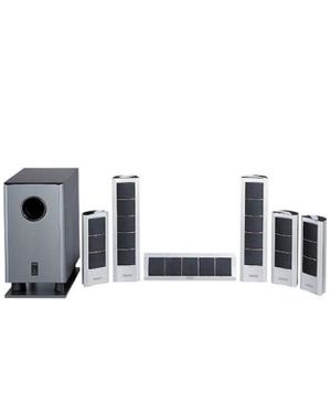 Onkyo SKS-HT240 Surround Sound 7 piece Home Theatre System (6 speakers + 1 Sub) Incredible sound quality ) wires included for Sale in Queens, NY