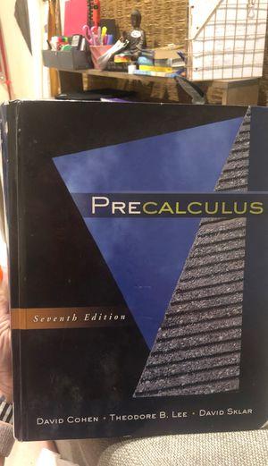 PreCalculus - Cohen, Lee, Sklar for Sale in Menifee, CA