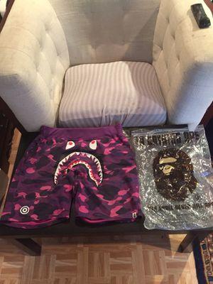 Bape camo shorts xl can ship cashapp or trade for Sale in Fairfax, VA